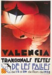 CARTEL DE FALLAS 1932