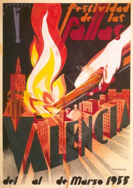 CARTEL DE FALLAS 1935