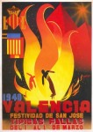 CARTEL DE FALLAS 1940
