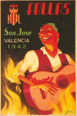 CARTEL DE FALLAS 1942