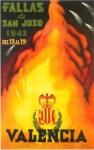 CARTEL DE FALLAS 1943