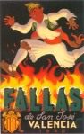 CARTEL DE FALLAS 1945