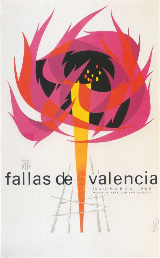 CARTEL DE FALLAS 1965