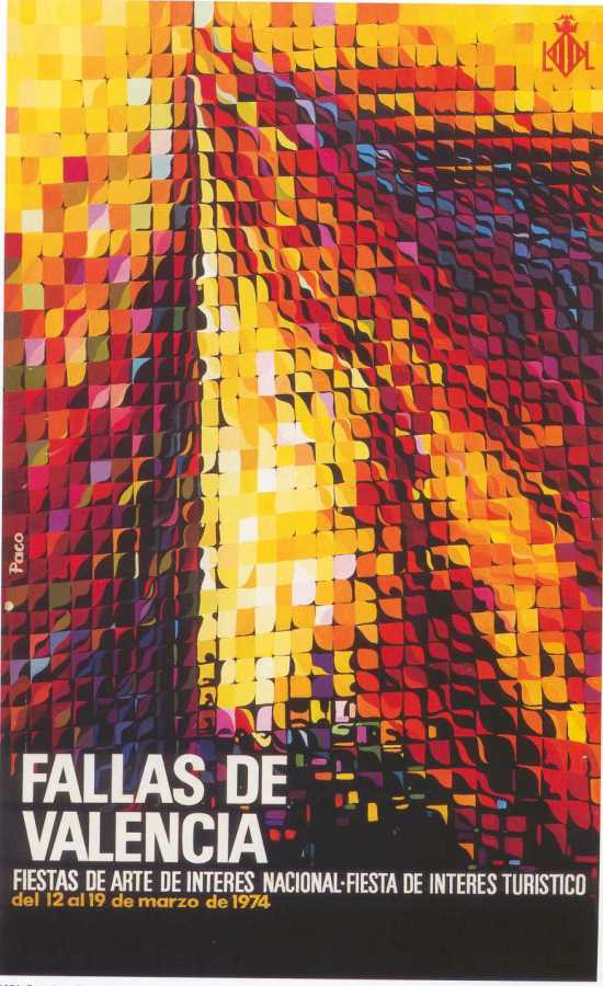 CARTEL DE FALLAS 1974