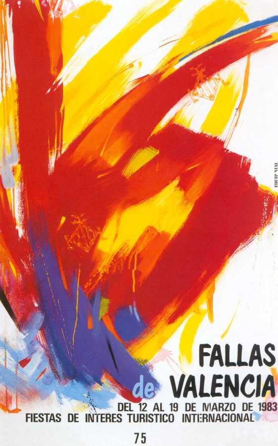 CARTEL DE FALLAS 1983
