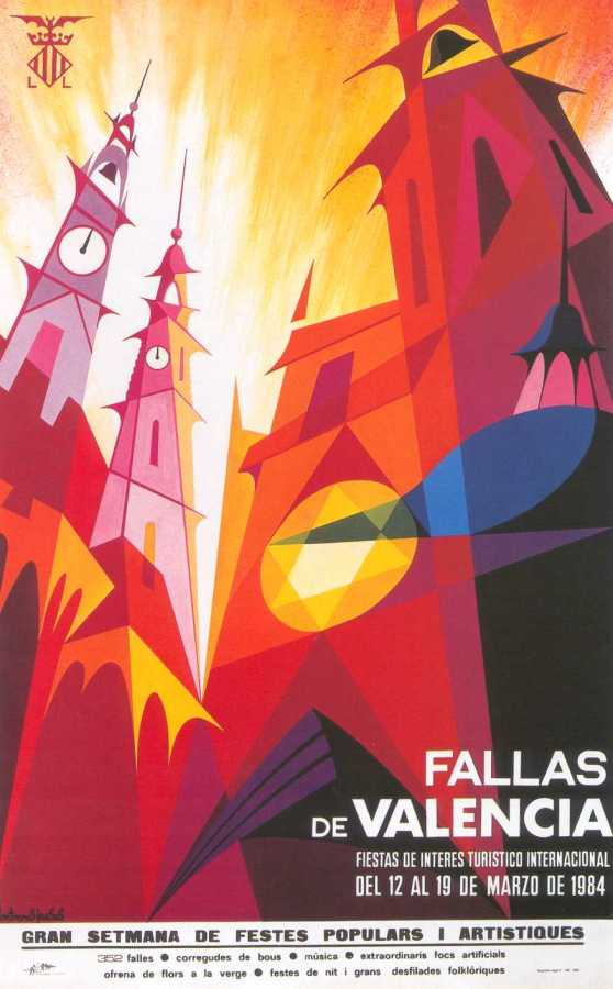 CARTEL DE FALLAS 1984