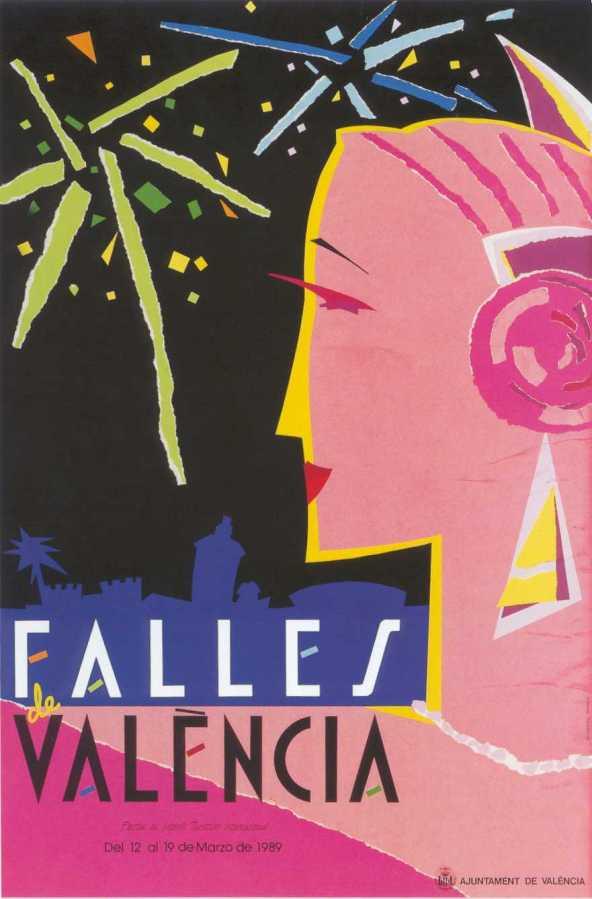 CARTEL DE FALLAS 1989