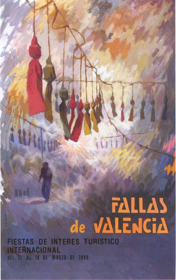 CARTEL DE FALLAS 1990