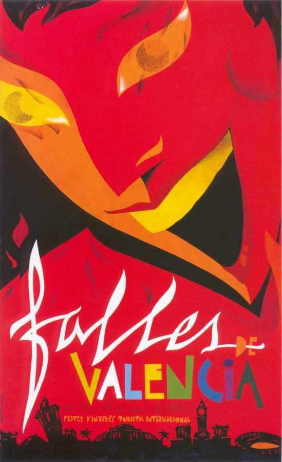 CARTEL DE FALLAS 1992