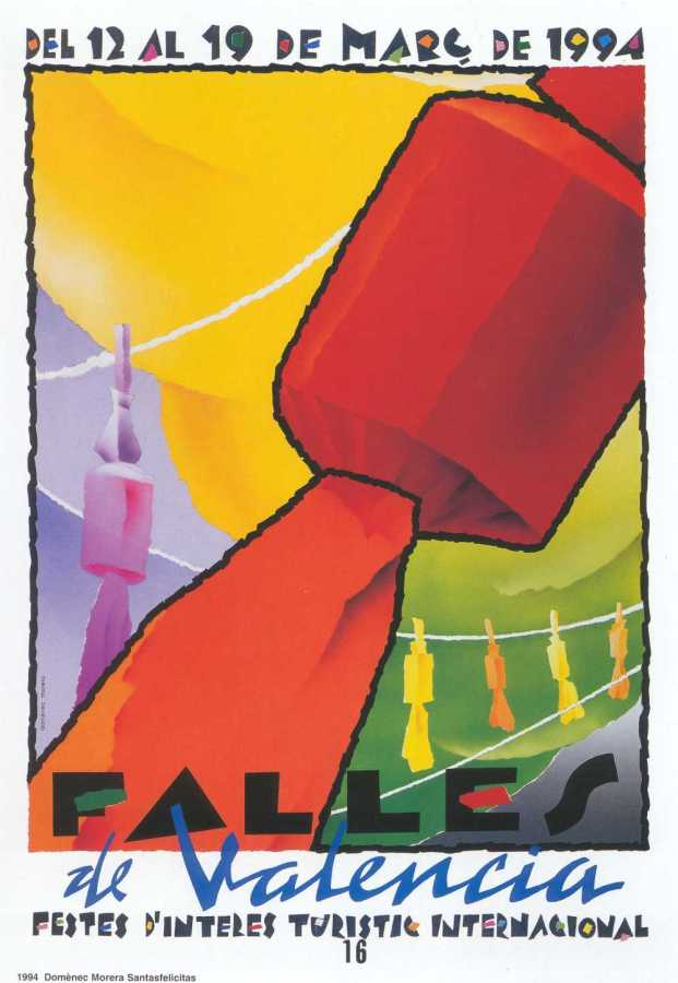 CARTEL DE FALLAS 1994