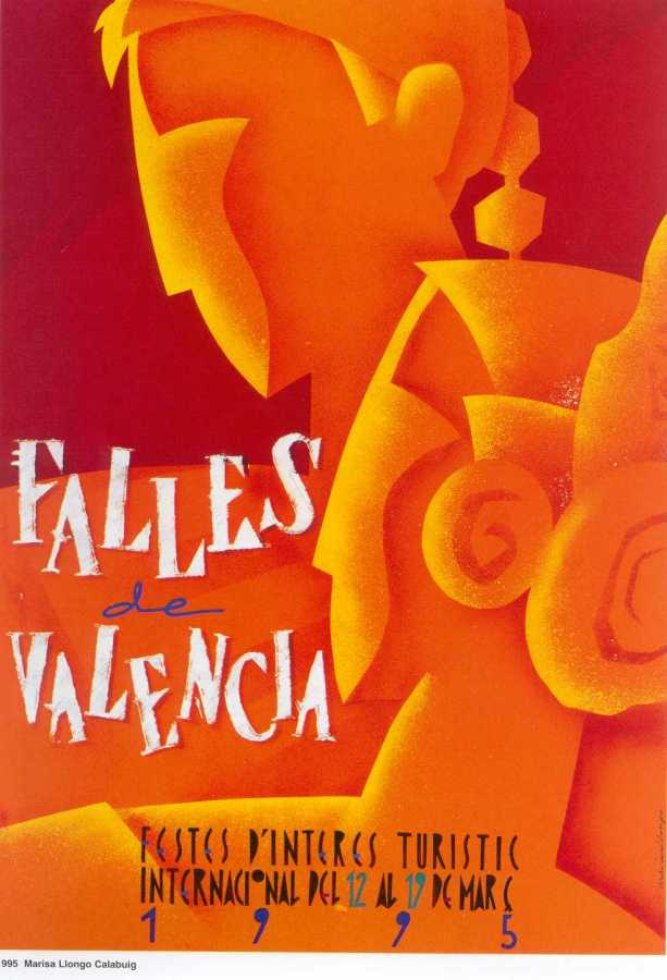CARTEL DE FALLAS 1995