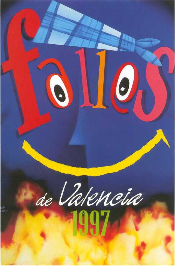 CARTEL DE FALLAS 1997