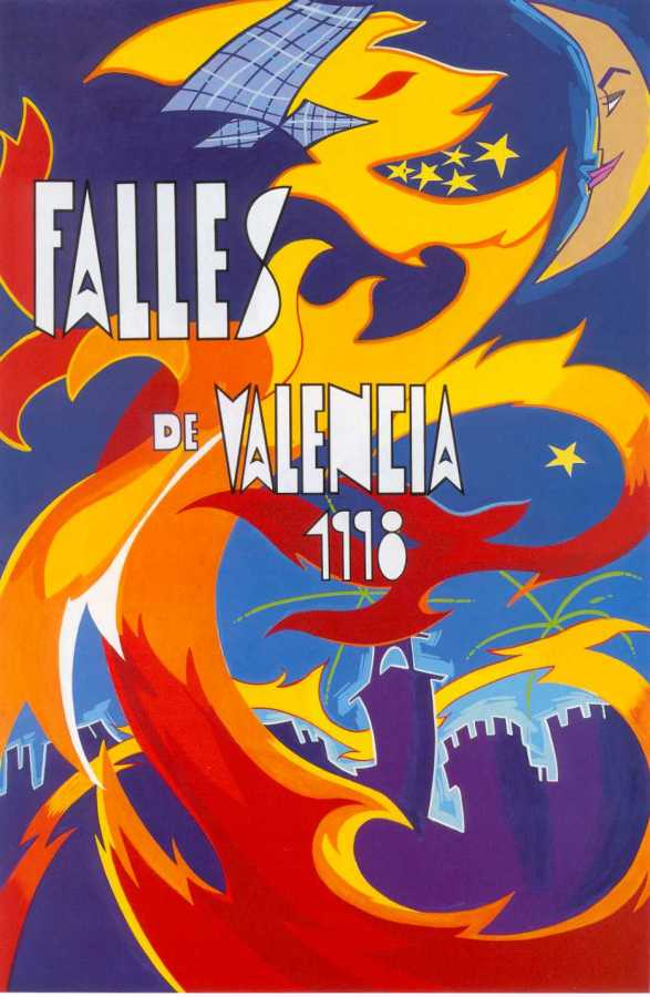 CARTEL DE FALLAS 1998