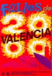 CARTEL DE FALLAS 2000
