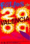 CARTEL DE FALLAS 2000