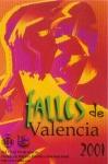 CARTEL DE FALLAS 2001