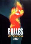 CARTEL DE FALLAS 2003