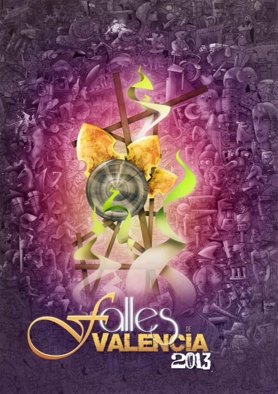CARTEL DE FALLAS DE VALENCIA 2013